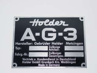 Holder Typenschild (06)