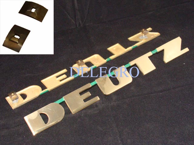 delegro webshop deutz emblem schriftzug d serie d15 d25. Black Bedroom Furniture Sets. Home Design Ideas